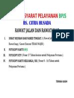 SYARAT BPJS