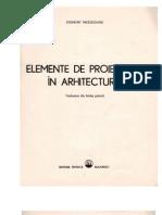 Elemente de Proiectare in Arhitectura