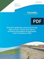 Etat de La Qualite Des Ressources en Eau-2014