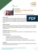 Curso Gratuito_ Iniciación a Las Terapias Creativas y Expresivas