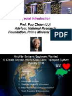 Special Opening DAY 3 by Prof- Pao Chuen LUI - CSD M Asia 2016