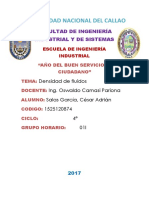 DENSIDAD DE LIQUIDOS