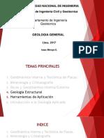 Geología  General del Planeta de los Humanos