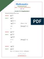 11 Maths NcertSolutions Chapter 13 2 Supplementary