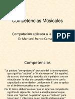 Competencias Músicales