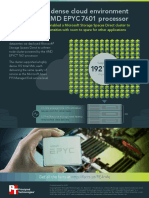 Support a dense cloud environment with the AMD EPYC 7601 processor - Infographic