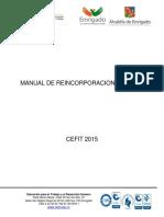 Manual de Reincorporacion o Adaptación Laboral - Adaptación Laboral CEFIT 2016