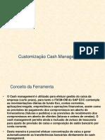 FSCM - CM Cash Management - Customização