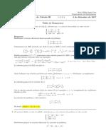 Corrección Examen Final de Cálculo III (Ecuaciones Diferenciales) 4 de diciembre de 2017