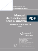 HT70 OperatingManual ES OPRHT70-21