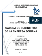 Proyecto Cadena de Suministro de Soriana