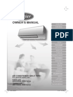 Carier Owner's Manual