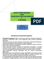 Earth Moving Machines-A Glance