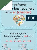 Le Present Verbes en Er Exercice Grammatical Fiche Pedagogique 94931