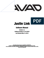 Justin Link Software Manual