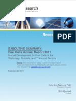 2011 FuelCellAnnualReport 11 Executive Summary