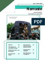 Namaste I March