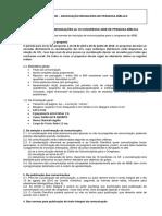 Edital Para Comunicaes Do Vii Congresso Abib
