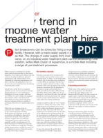 201401 - Filtration+Separation - A new trend in mobile water-treatment plant hire
