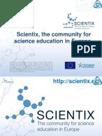 "Иновативни Практики в Проекта ""Scientix"""
