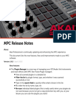 MPC Release Notes