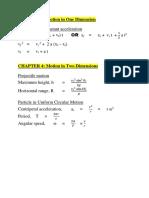 ZCA101 Formulae