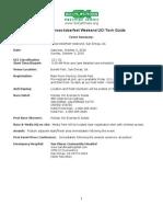 Krosstoberfest UCI Tech Guide (Oct 2-3, 2010)