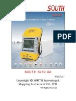 S750 G2 User Manual