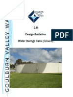 Design Guidelines Water Storage Tank Ground