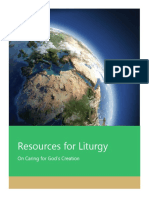 Ecology Resource Liturgy