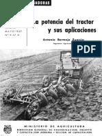 Potencia de Un Tractor