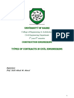 Types of Contracts in Civil Engineering-1