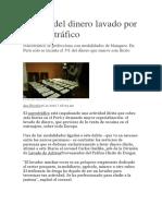 Lavado de Dinero en El Peru