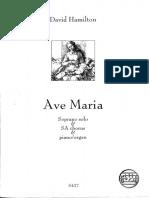 AVE MARIA, by David Hamilton