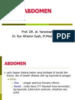 1.4.1.3 - Anatomi Dinding Abdomen Dan Proyeksi Organ