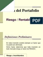 Tema 7 - Teoria Del Portafolio (1)
