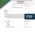 Surat Jawaban Dispensasi Dana Astellas