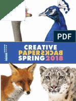 Spring 2018 Creative Paperbacks Catalog