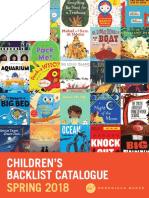 Spring 2018 UK Chronicle Books Children's Backlist Catalog
