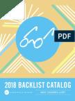 Spring 2018 Chronicle Books Backlist Catalog