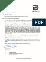 State Legislative Director Appointment