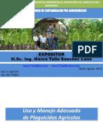 Uso y Manejo Adecuado Plaguicidas Agricolas