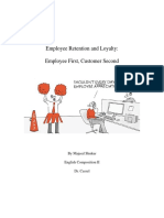 employee retention research paper