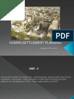 Human Settlements Unit 4