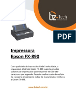Manual Epson Fx 890