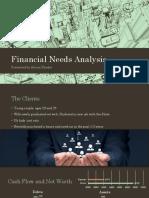 financial needs analysis