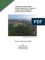 Oleoflores e Indupalma- Corporativismo Empresarial y Relaciones de Poder en El Monocultivo de Palma de Aceite en Colombia