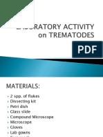 Laboratory Activity on Trematodes