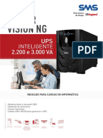 Catalogo de Nobreak SMS Power Vision NG UPS Inteligente 2200 e 3000 VA (23504 160511)
