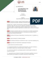 Lei Orgânica de Salvador